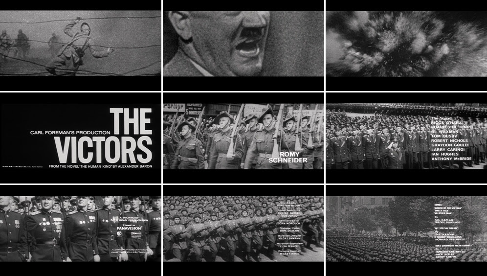 Saul Bass The victors 1963 title sequence