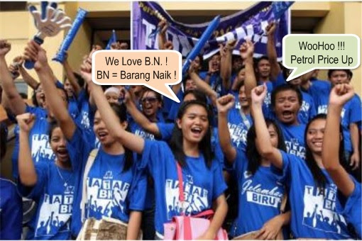 BN Supporter - Fuel Price Hike