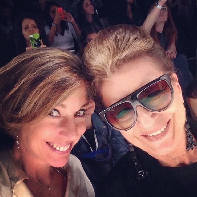 Selfie com mãe!