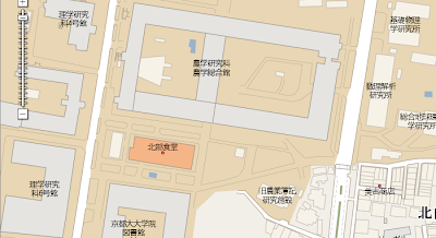 Google Maps - 基礎物理学研究所