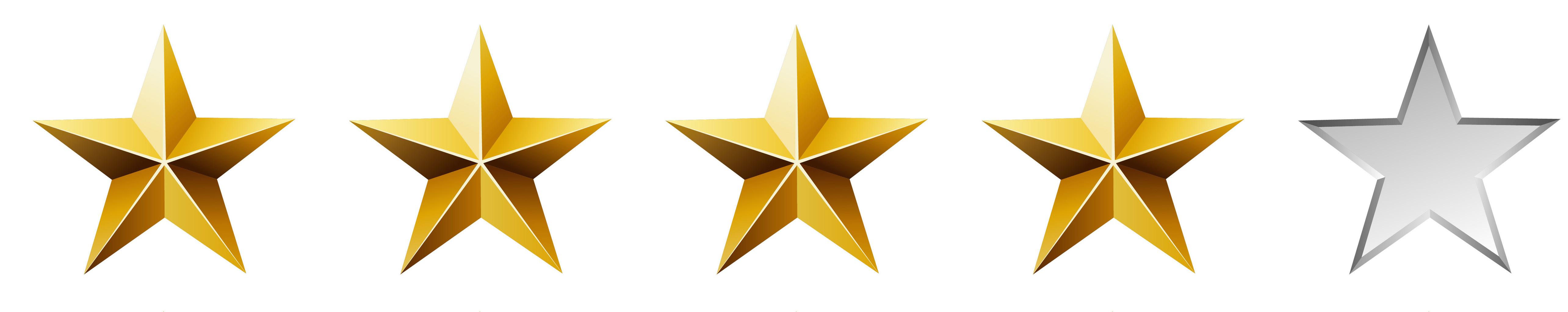 Image result for 4/5 stars