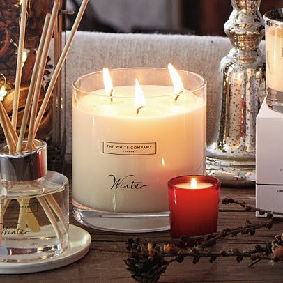 Winter Large Candle | Candles | The White Company US