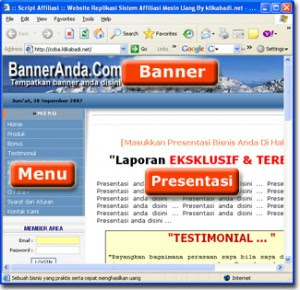 template web MLM