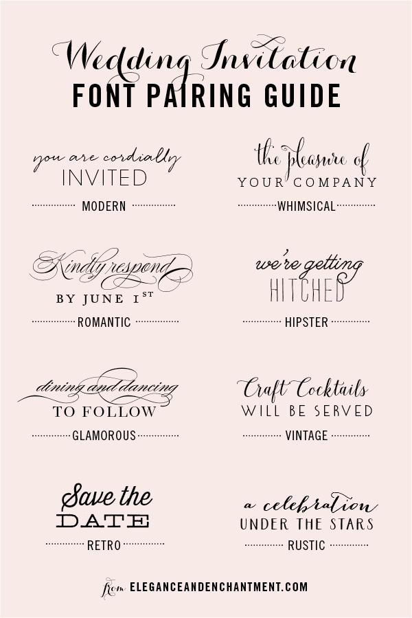 Wedding Invitations For Styles Used Font Donâ T Much As I Love Sure Fonts