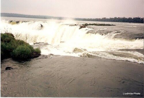 Горло Дьявола Devil's Throat in Iguazu Falls