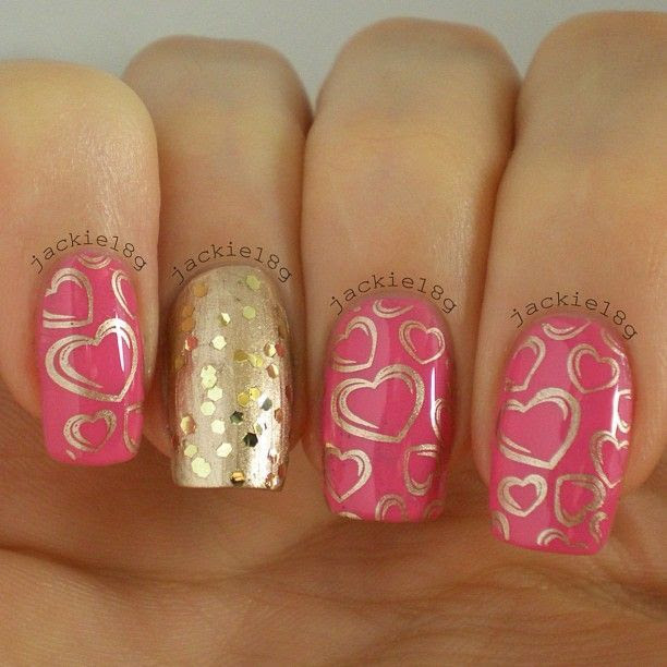 cute-valentine-nail-designs-new-easy-pretty-home-manicure-ideas-2