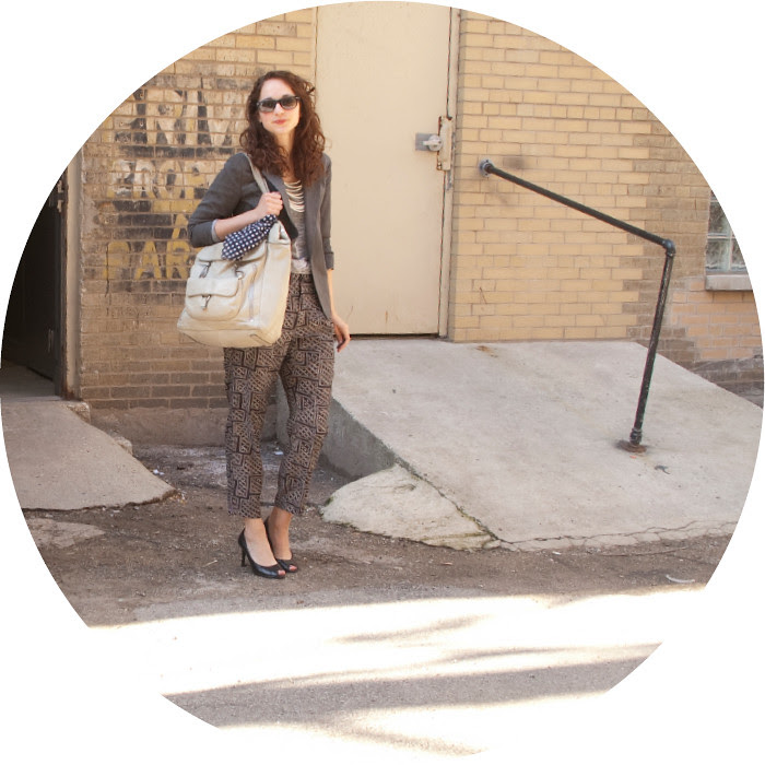 dash dot dotty, pajama pants, heels, printed pants, ootd, how to wear, outfit ideas, fashion blog, jacket and, pleated pants, neutrals