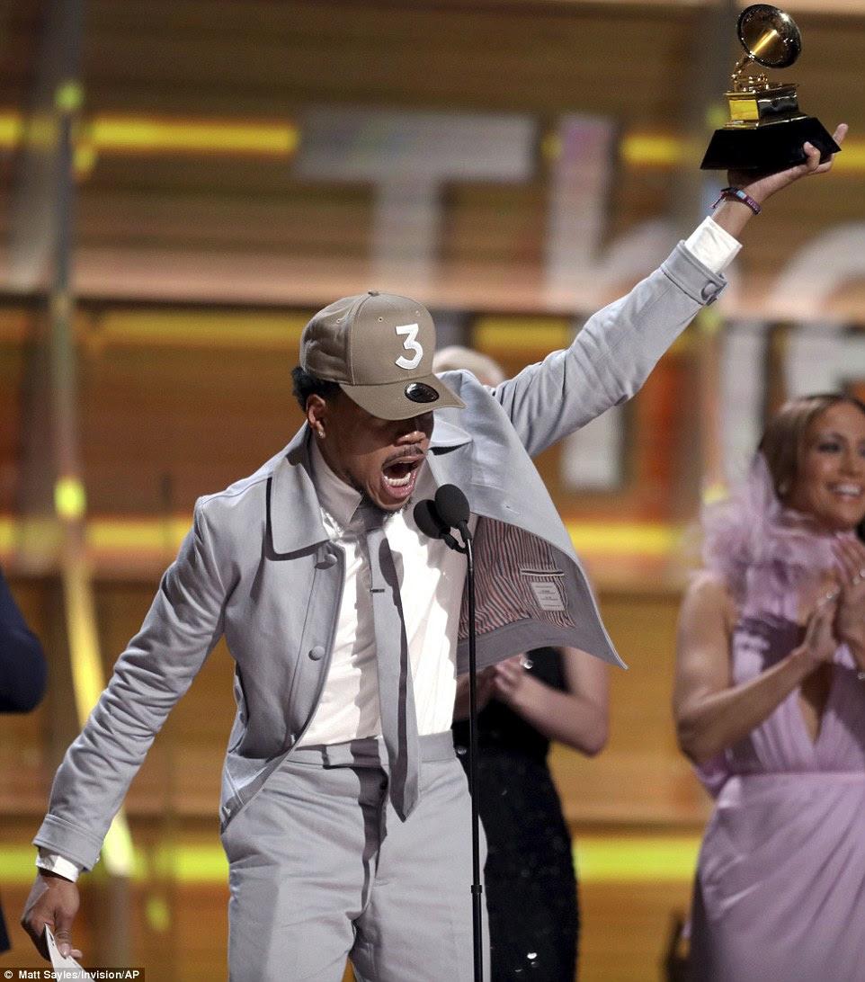 Shining star: Chance O Rapper deu início aos Grammy Awards ao vencer Melhor Artista Novo