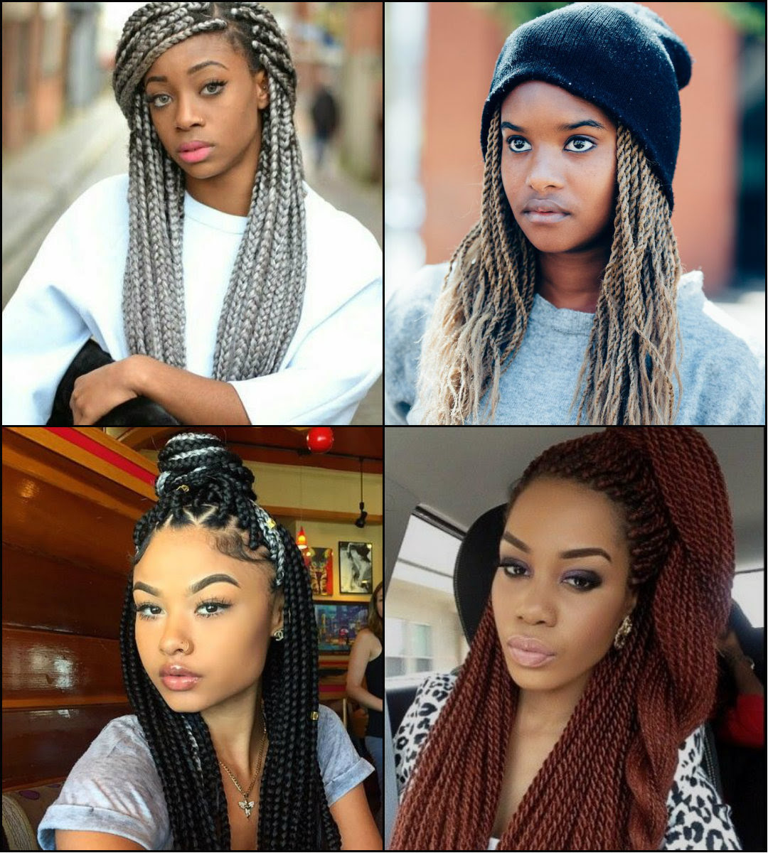 Twists And Braids Black Hairstyles 2017 Long Hairstyles