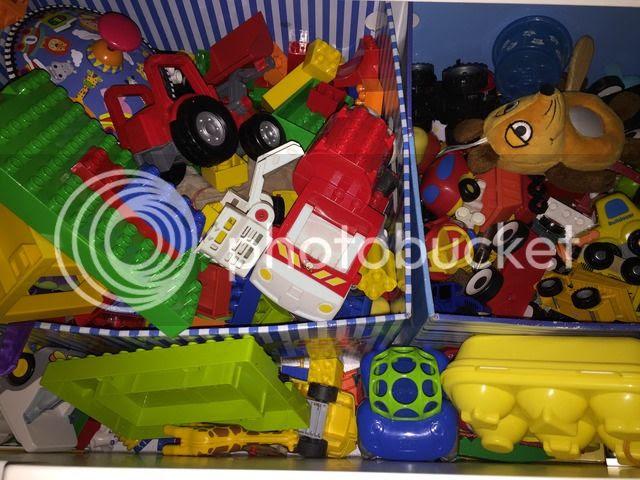 Spielzeugkistenchaos