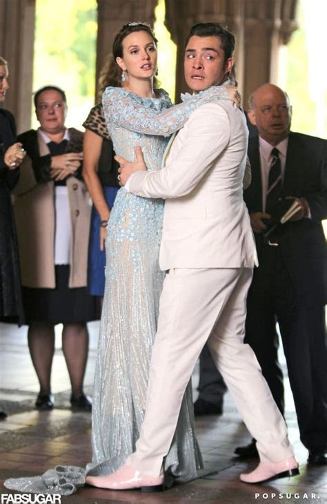 Blair Waldorf's Wedding Dress With Chuck Bass   Pictures