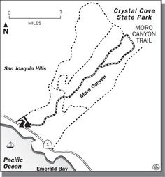 Image Result For Crystal Cove State Park Trail Map