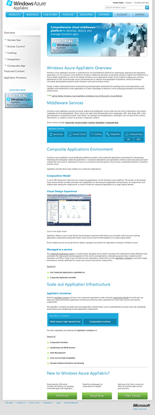 Windows Azure AppFabric Site