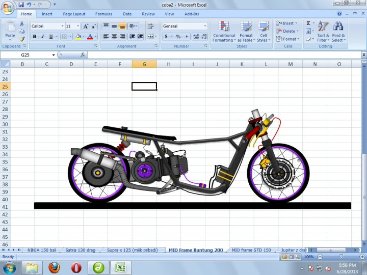 Desain Motor Drag Mio Automotivegarage Org Slidehdco