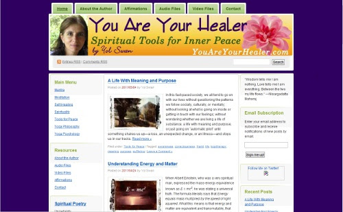 You Are Your Healer: Spiritual Tools for Inner Peace