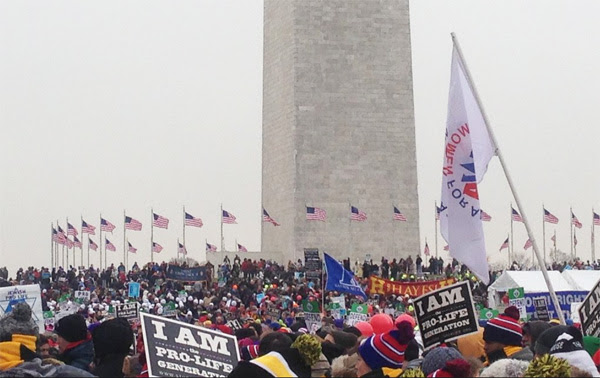 2016 March for Life (Photo: Twitter/catholic News Agency)