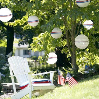 Quick and Simple Decorations to Celebrate the Fourth of July