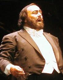Luciano Pavarotti in Vélodrome Stadium, 15/06/...