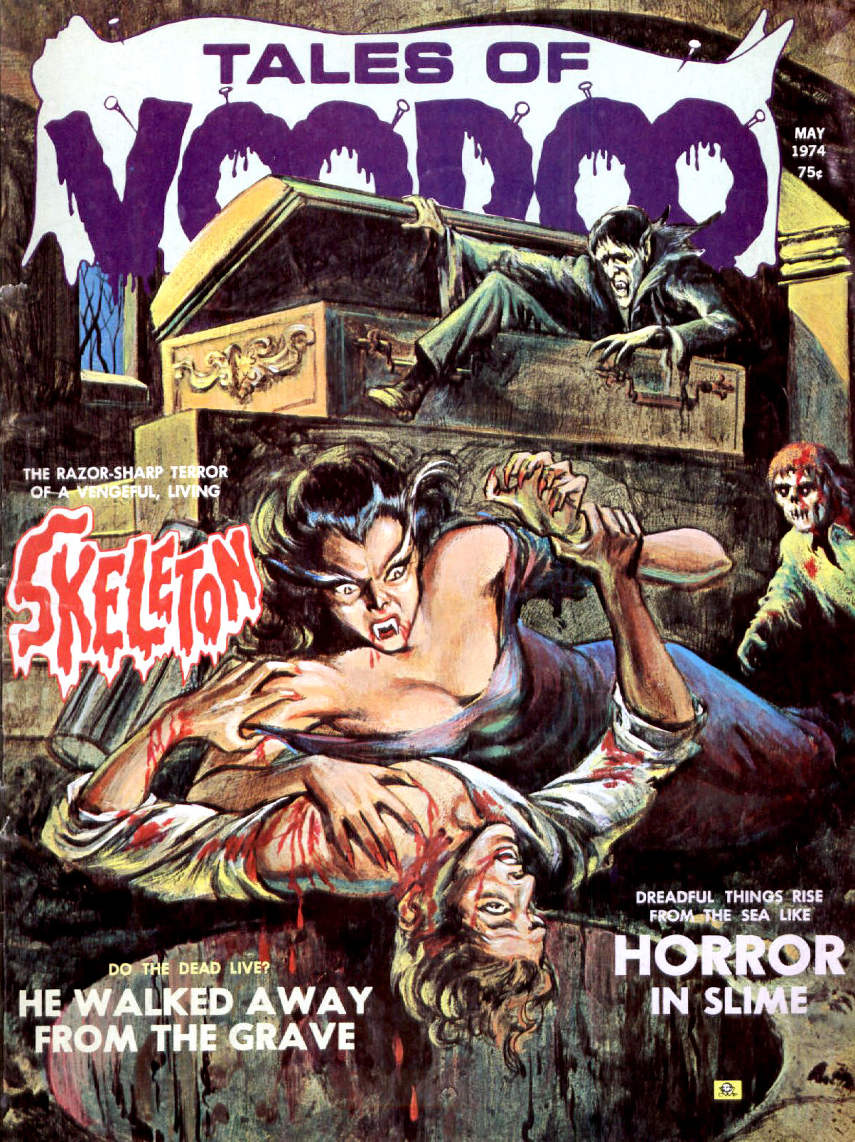 Tales of Voodoo Vol. 7 #3 (Eerie Publications 1974
