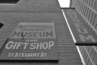 San Francisco Railway Museum - Signage