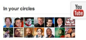 Hey Look, It's YouTube on Google+ by stevegarfield