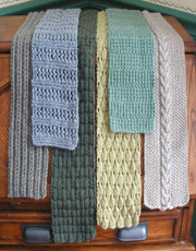 6 Simple Scarves Pattern