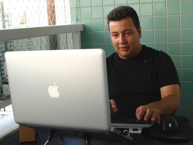 Reginaldo Silva, morador de São José dos Campos que descobriu falha no Facebook e ganhou prêmio de R$ 79 mil (Foto: Paula Alvares/G1)