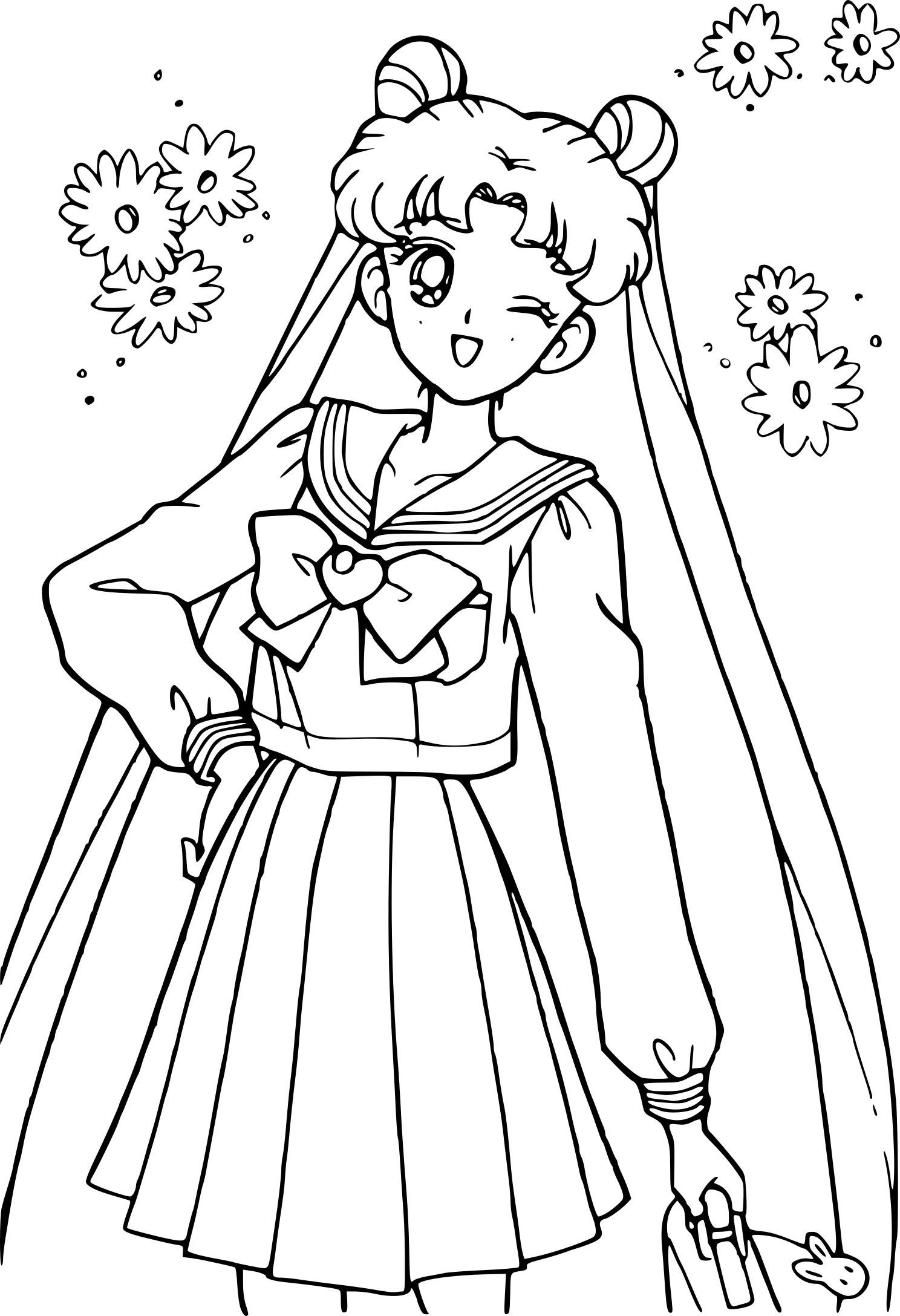 Sailor Moon collégienne