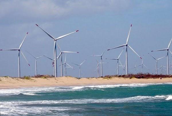 RN é líder nacional em produção de energia eólica, aponta CCEE