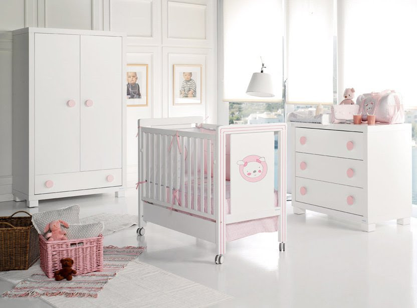 Charming Nursery Furniture For Baby Girls And Baby Boys A