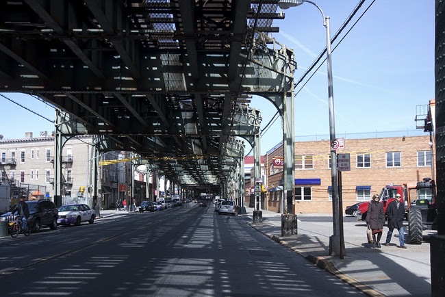 Raised tracks, Brooklyn