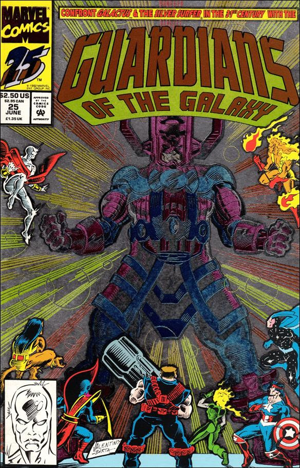 Guardians of the Galaxy (1990) 25-A by Marvel