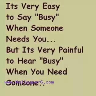 Download Busy Heart Touching Love Quote Mobile Version