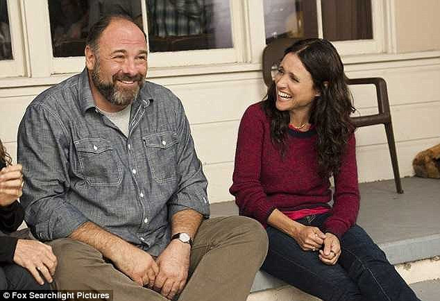 One last goodbye: Enough Said stars Julia Louis-Dreyfus as a divorced woman who finds love with her friend's ex-husband, played by Gandolfini