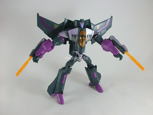 Transformers Skywarp Animated Voyager - modo robot