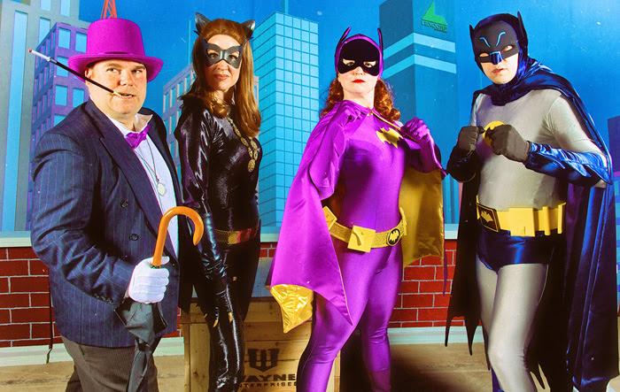 60 S Batman Group Cosplay