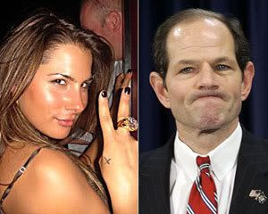 'Kristen' and former New York governor Eliot Spitzer...a.k.a. 'Client 9'.