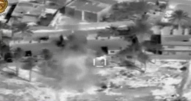 Coalition forces blitzed key targets, but it did little to stop ISIS taking control of the provincial capital