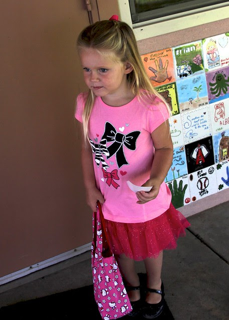 Giulietta's First Day of School 2012 17