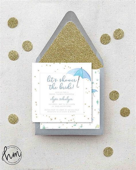 10 Affordable Bridal Shower Invitations You Can Print at
