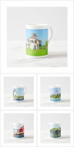 Door County Lighthouse Mugs