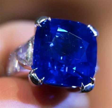 Kashmir Sapphire Sells For 7 Million At Christie's