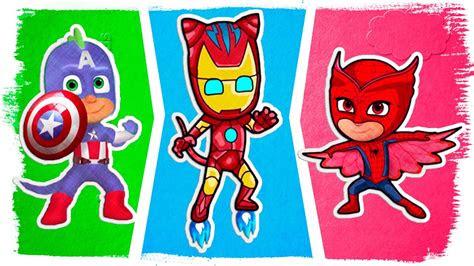 pj masks superhero coloring pages pj masks  spiderman