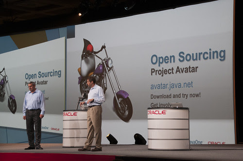 """""""Open Sourcing Project Avatar"""", Cameron Purdy and Peter Utzschneider, Java Strategy Keynote, JavaOne 2013 San Francisco"""