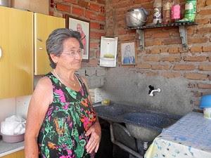 Nem os santos têm resolvidos os problemas dos sertanejos (Foto: Taiguara Rangel/G1)