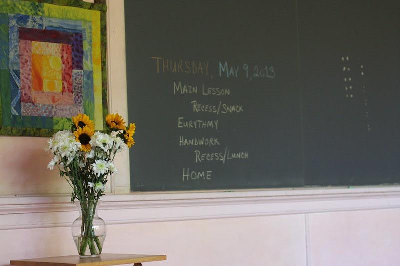 K's classroom