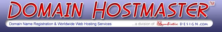 Domain Hostmaster 468x60 Banner