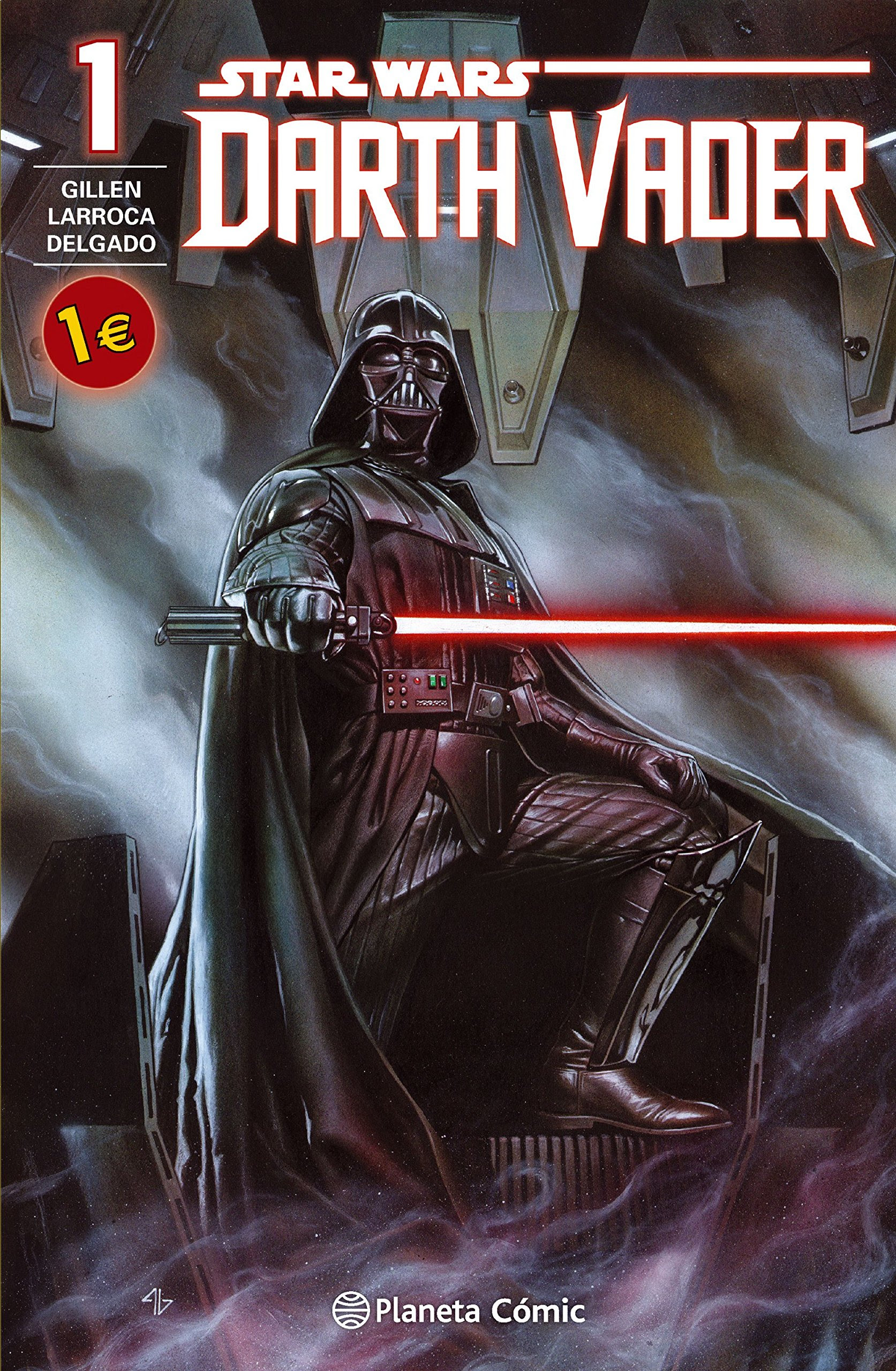 Cómic Star Wars Darth Vader I