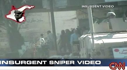 CNN sniper video