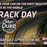 « Track day with Marc Duez », la journée plaisir à Spa-Francorchamps